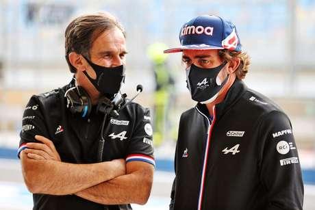 Davide Brivio aposta no talento e na experiência de Fernando Alonso