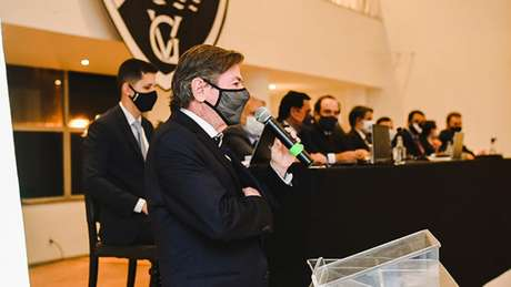 Diretoria comandada por Jorge Salgado se posicionou criticando a mudança de data (Jorge Perci/ Vasco.com.br)