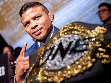 Bibiano Fernandes não esconde vontade em fazer uma luta no Brasil (Foto: Divulgação/ONE Championship)