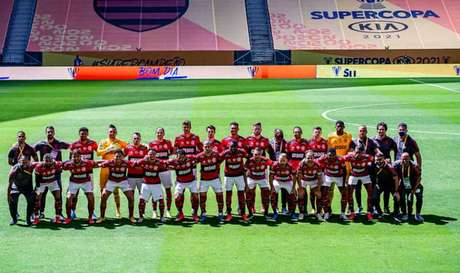 Flamengo levou a Supercopa do Brasil pelo segundo ano consecutivo (Foto: Marcelo Cortes/Flamengo)