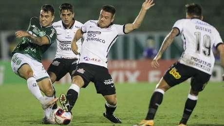 Corinthians tem conquistado resultado, mas não apresenta desempenho (Foto: Rodrigo Coca / Agência Corinthians)