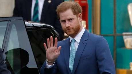 Harry deixou os compromissos oficiais da família real no ano passado