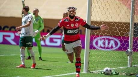 Gabigol deixou o dele contra o Verdão (Alexandre Vidal/Flamengo)