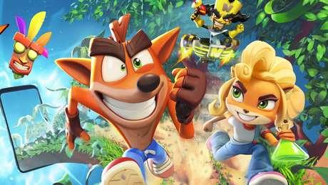 Crash Bandicoot: On The Run! foi lançado em março de 2021
