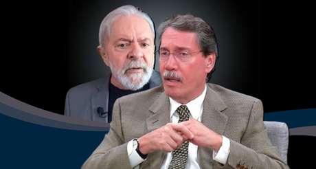 Lula não disfarça irritação comjornalistas do Grupo Globo, como Merval Pereira, por conta da cobertura de seu julgamento na Lava Jato