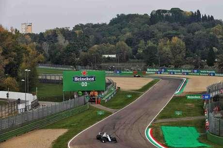 O circuito de Ímola voltou à Fórmula 1 após 14 anos. E segue em 2021