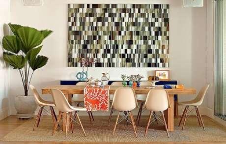 1. Alguns modelos de tapetes podem ser o ponto alto da sua decoração – Foto: Jeito de Casa