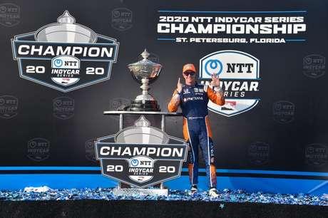 Dixon conquistou seu sexto título na Indy em 2020