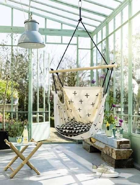 38. No mercado é possível encontrar diferentes modelos de rede cadeira. Fonte: Pinterest