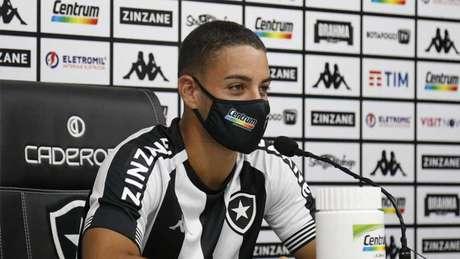 Felipe Ferreira marcou nos últimos dois jogos do Botafogo na competição (Foto: Vitor Silva / BFR)