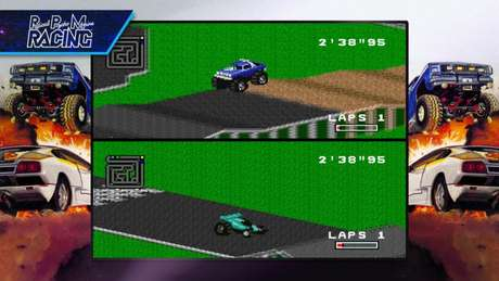 RPM Racing na Blizzard Arcade Collection