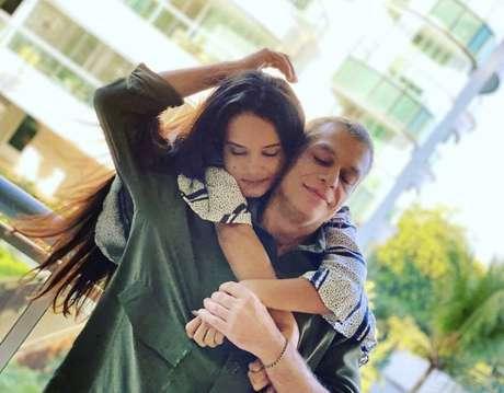 O ator Fábio Assunção e esposa Ana Verena