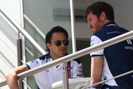 Rob Smedley e Felipe Massa, já nos tempos de Williams