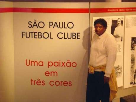 Ruth era torcedora do São Paulo e morreu vítima da Covid-19 (Foto: Reprodução)