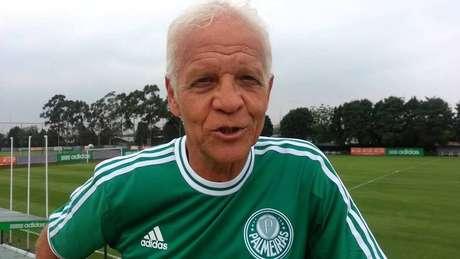 Ademia da Guia, considerado um dos maiores nomes da história do Palmeiras