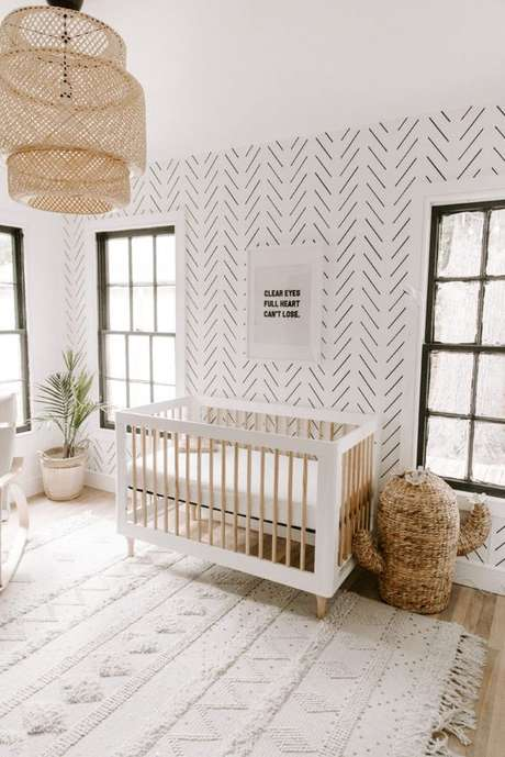 33. Quarto de bebe retro minimalista – Foto Project Nursery