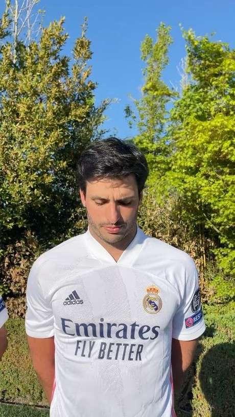 Carlos Sainz Jr nunca escondeu sua paixão pelo Real Madrid.