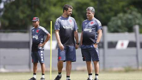 Marcos Cezar faz parte da comissão técnica comandada por Marcelo Cabo (Rafael Ribeiro/Vasco.com.br)