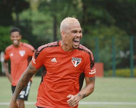 Luciano é dúvida para a próxima partida do São Paulo (Foto: Divulgação/São Paulo)