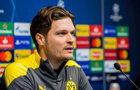 Edin Terzic comandará o Borussia Dortmund até o final da temporada (Foto: Reprodução/Twitter Borussia Dortmund)