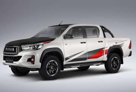 Toyota Hilux pode ganhar versão esportiva GR com motor V6 turbodiesel de 310 cv. Foto