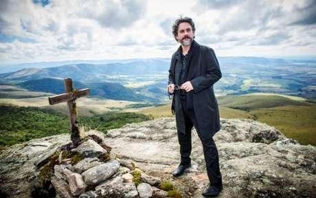 José Alfredo (Alexandre Nero) na mineira Carrancas, que fez as vezes de Monte Roraima em 'Império'