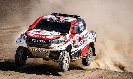 Toyota Hilux vencedora do Rally Dakar 2019 pode inspirar nova geração da picape.