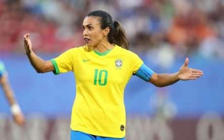 Marta é a maior jogadora da história (Foto:Reprodução)
