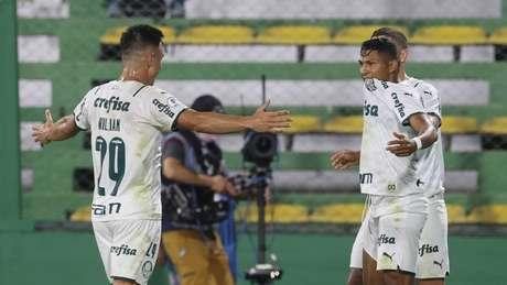 Após vencer o jogo de ida fora de casa, o Palmeiras decide a Recopa em Brasília (CESAR GRECO/AGÊNCIA PALMEIRAS)