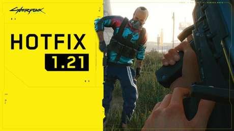 Patch 1.21 de Cyberpunk 2077 chega em 14 de abril aos PCs e consoles