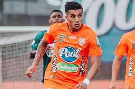 Yeison Guzmán está no radar da Raposa para reforçar o elenco da temporada 2021-(Divulgação/Envigado)
