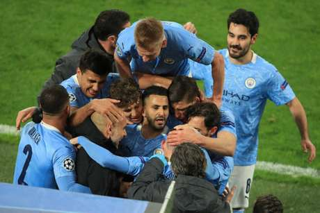 Manchester City vai em busca do título inédito da Champions League (Foto: WOLFGANG RATTAY / POOL / AFP)
