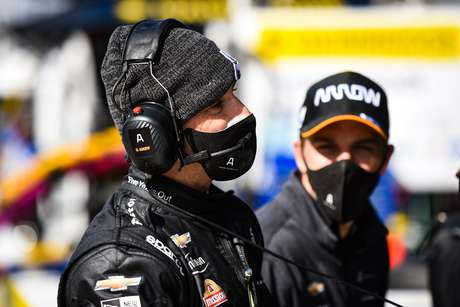 Helio Castroneves andou com a McLaren em uma etapa de 2020, agora vai de Meyer Shank