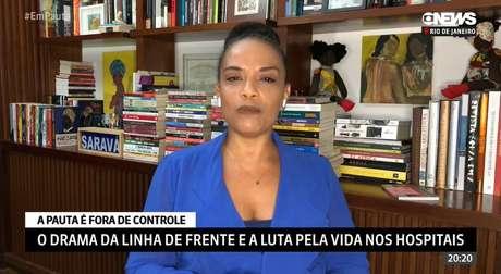 """""""Estamos nessa situação de luto permanente. Tá muito difícil, tá muito difícil"""", desabafou Flávia Oliveira"""