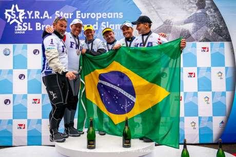 Robert e Scheidt e Maguila são destaques do Brasil no ranking da SSL (Foto: Gilles Morelle / SSL)