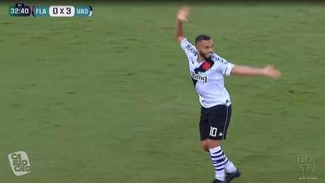 Morato repete dancinha de Edmundo em vitória recente do Vasco sobre o Flamengo, mas quem dançou por último foi o time de São Januário
