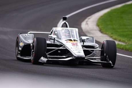 Josef Newgarden liderou teste em Indianápolis. O objetivo em 2021 é o título