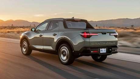 Assim como a Fiat Toro, nova Hyundai Santa Cruz também conta com carroceria monobloco.