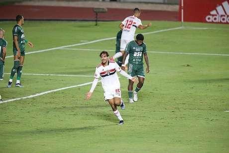 Igor Gomes foi importante na vitória sobre o Guarani pelo estadual (Foto: Paulo Pinto)