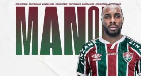 Manoel já foi anunciado pelo Fluminense (Foto: Reprodução)