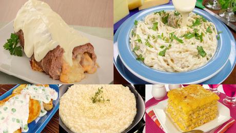 Aprenda a preparar receitas deliciosas com quatro queijos