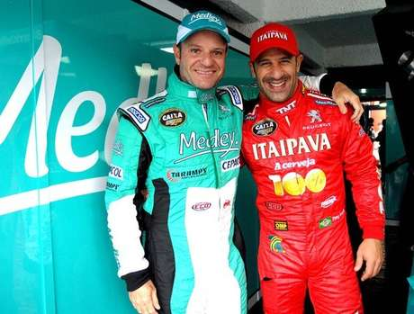Rubens Barrichello e Tony Kanaan vão se reencontrar na Stock Car