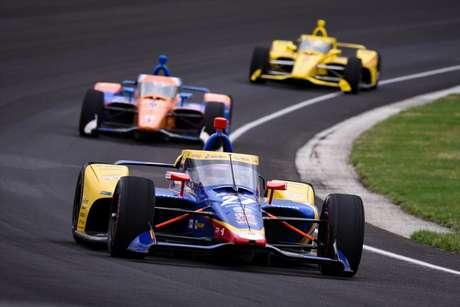 Alexander Rossi participou de teste em Indianápolis
