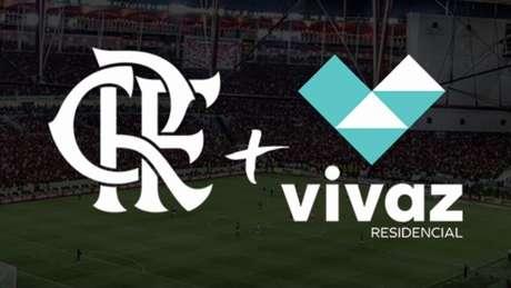 Flamengo anunciou a parceria com a Vivaz nesta quinta (15) (Foto: Divulgação / CRF)