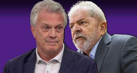 O apresentador do 'Conversa com Bial' provocou risos dos colegas do 'Manhattan Connection' ao fazer piada com Lula