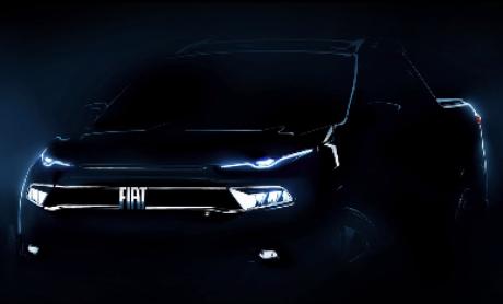 Nova Fiat Toro será apresentada no dia 22 de abril e terá motor 1.3 turbo flex.