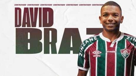 David Braz é o novo reforço do Fluminense (Foto: Divulgação/Fluminense FC)