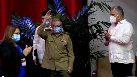 Raúl Castro confirmou saída da liderança no VIII Congresso do Partido Comunista de Cuba