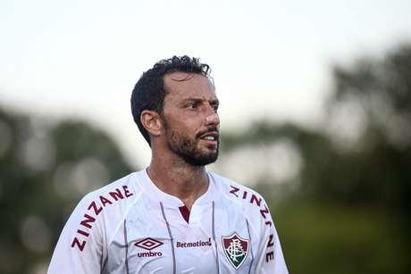 Nenê foi um dos escolhidos para a seleção do Campeonato Carioca (Foto: LUCAS MERÇON/FLUMINENSE F.C)