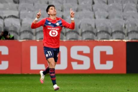 Luiz Araújo tem quatro gols na Ligue 1 (Foto: DENIS CHARLET / AFP)